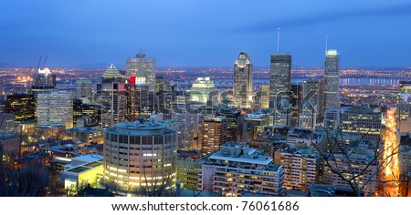 Montreal - stock photo