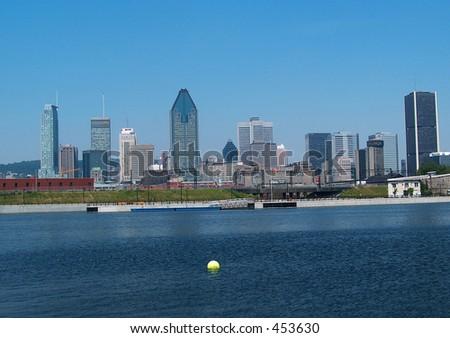 Montreal Lasalle Skyline - stock photo