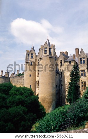 Montreuil (France) - The towers of the ancient castle
