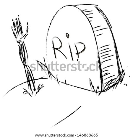 Stock Photo Zombie Hand  ing Out From Grave besides Tombstone Drawing also Devilish Moon 689892 moreover Search besides Horror Vectors Page 2. on happy halloween zombie graveyard