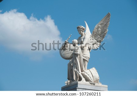 monument in berlin - stock photo