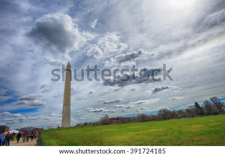 Monument in Washington DC