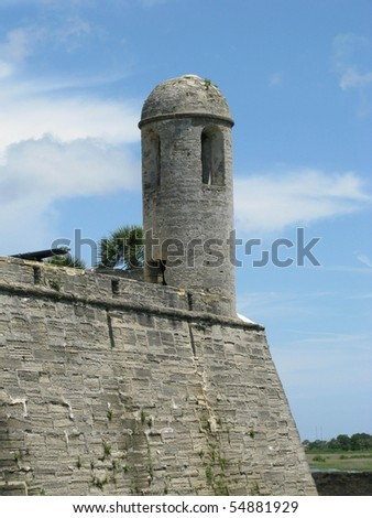 Monument of St. Augustine, Florida - stock photo
