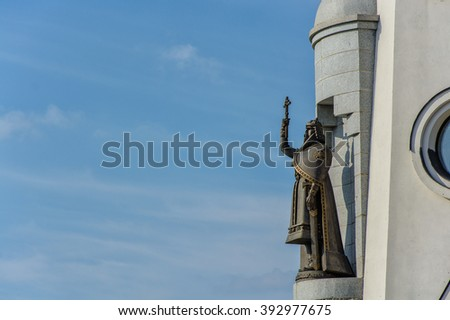 monument to Prince Vladimir the Great. Prince of Kiev