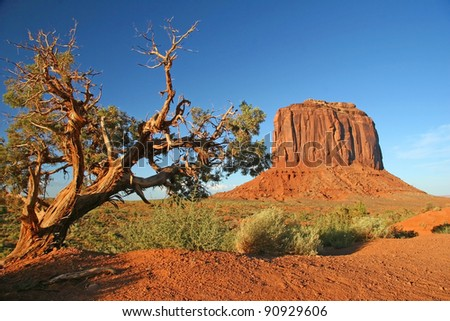 Monument Valley, Arizona - stock photo