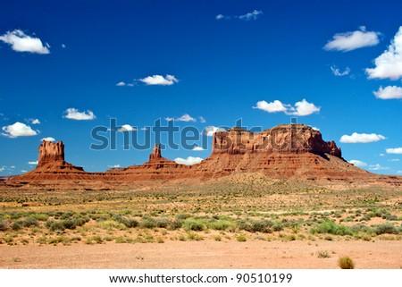 Monument Valley Arizona USA - stock photo