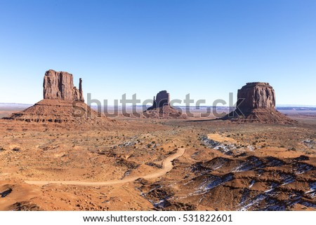 Monument Valley National Park in Arizona