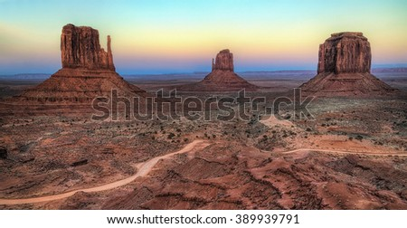 Monument Valley Sunset, Arizona