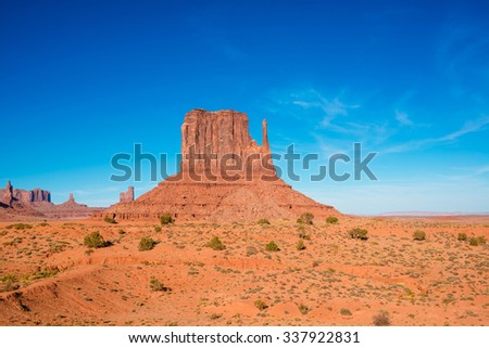Monument Valley, Utah, Arizona, USA - stock photo