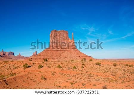 Monument Valley, Utah, Arizona, USA - stock photo