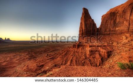 Monument Valley Utah, USA - stock photo