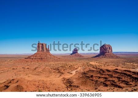 Monument Valley, Utah, USA - stock photo