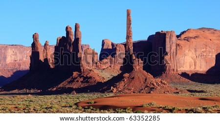Monument Valley , Utah, USA - stock photo