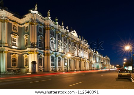 Monuments and architecture of the city st. Petersburg - stock photo