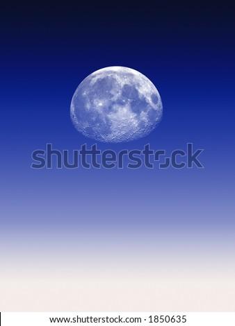 Moon - stock photo