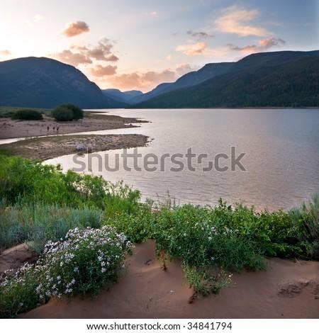 Moon Lake, Ashley National Forest - stock photo