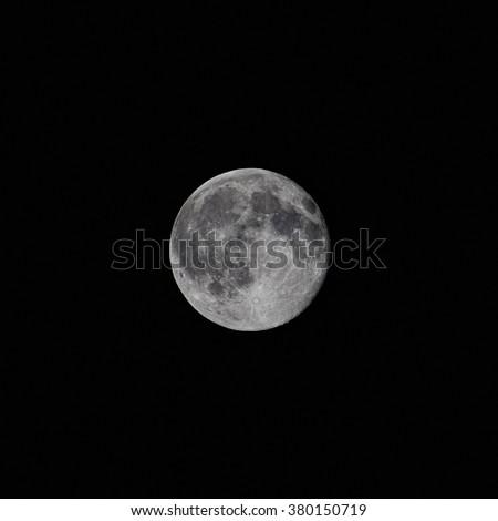 moon/moon/full moon view - stock photo