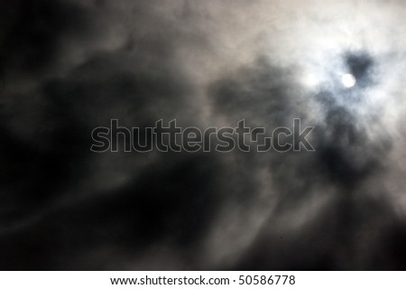 moon , night , grunge , clouds background - stock photo