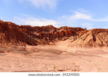 Moon Valley, Atacama Desert, Chile, South America