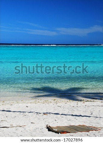 Moorea Beach - stock photo