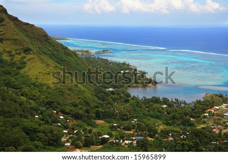 Moorea from Mountaintop