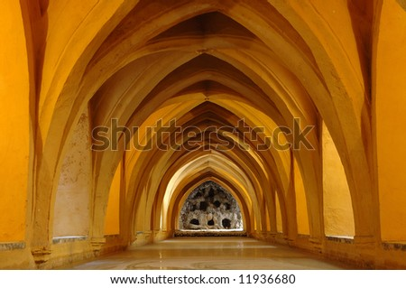 moorish bath house - stock photo