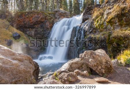 Moose Falls - stock photo