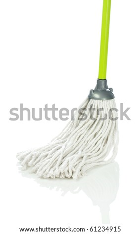 mop - stock photo