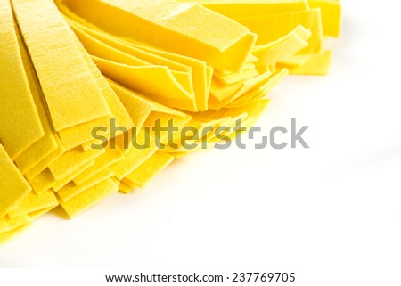 Mop on white isolated - stock photo