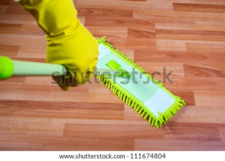 mop the floor washing