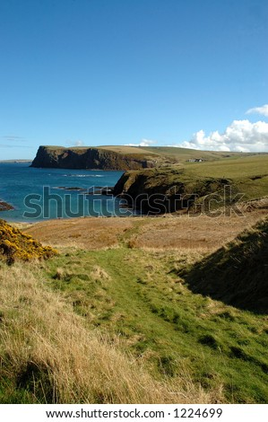 Moray Coast Scotland - stock photo
