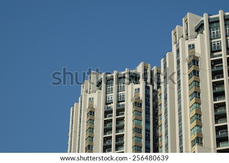 Mordern huge building - stock photo