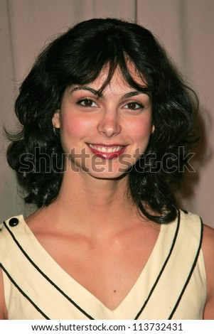 Morena Baccarin at the 6th Annual Awards Season Diamond Fashion Show Preview hosted by Diamond Information Center and InStyle Magazine. Beverly Hills Hotel, Beverly Hills, CA. 01-11-07 - stock photo