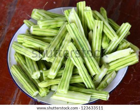 Moringa thai vegetable - stock photo
