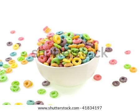 Morning colors in and out of the bowl - stock photo