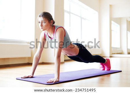 Morning Fitness - stock photo