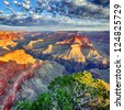 morning light at Grand Canyon, Arizona, USA - stock photo