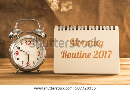 Morning Routine Stock Images, Royalty-Free Images ...