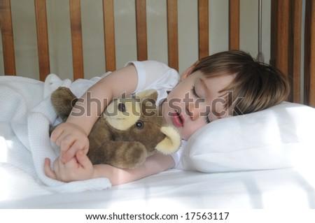 Morning slumber - stock photo