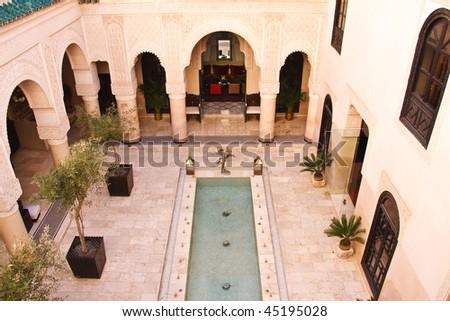 Moroccan Architecture - stock photo