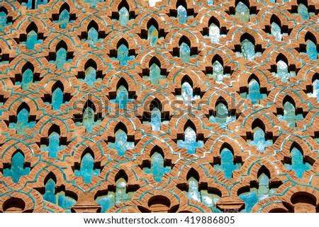 Moroccan Style Architecture - stock photo