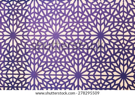 Morocco tiles background textures - stock photo