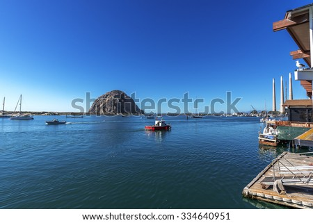 Morro harbor stock photos images pictures shutterstock for Morro bay deep sea fishing
