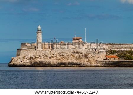 Morro castle in Havana, Cuba - stock photo