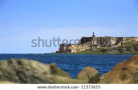 Morro Castle-Old San Juan - stock photo