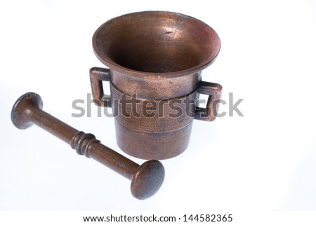 mortar - stock photo
