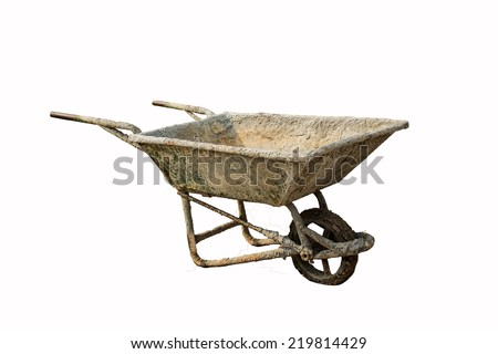 Mortar Cart - stock photo