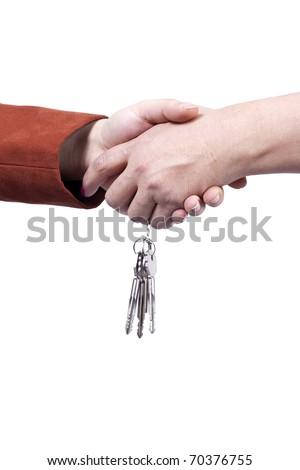 Mortgage agreement - stock photo