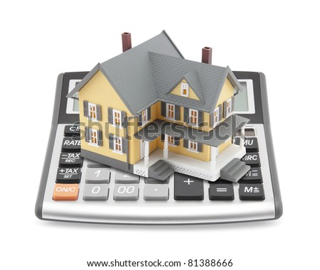Mortgage Calculator - stock photo