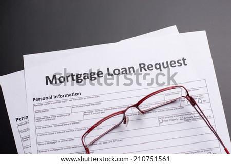 Mortgage Documents - stock photo